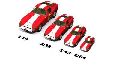 escala coche rc