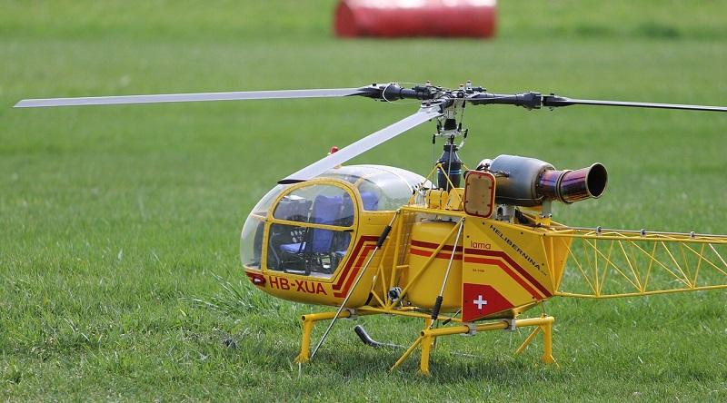 que es un helicoptero rc
